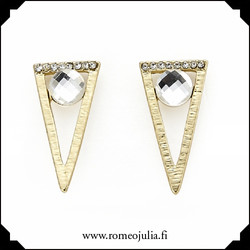 Korvakorut, Intrigue|Geometric Triangle in Gold