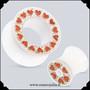 Valkoinen sydäntunneli 10mm