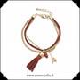Rannekoru, Charm Bracelet, punainen