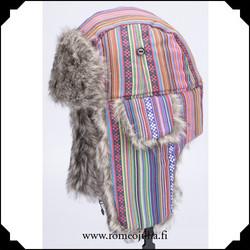 Trapper hat, inka