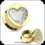 Plugi, Diamond Heart 8mm