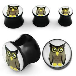 Plugi, Owl 6mm