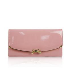 Lompakko, Gold Bow Powder Pink