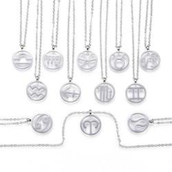 Kirurginteräsriipus ketjulla, Horoskooppi