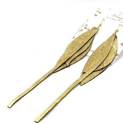 LEMPI-korvakorut, Siivet (kulta, pitkä)