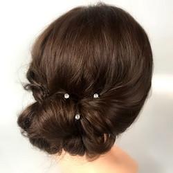 Hiuskoru, Pienet kristallihengettömät (kulta)