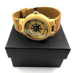 Rannekello, Compass (puinen kello, kompassi)