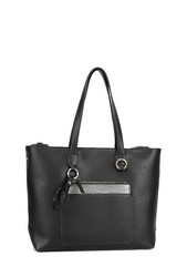 Laukku, BESTINI|Large Womans Handbag in Black (musta laukku)