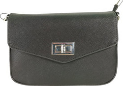 Vyölaukku/Laukku, Flora & Co|2 in 1, Small Black Womans Handbag (musta käsilaukku)