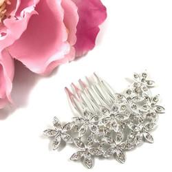 Hiuskoru, kristallikampa Pretty Small Flowers