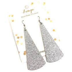 LEMPI-korvakorut, Kajo (hopea glitter)