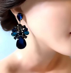 Korvakorut,  Beautiful  Blue Earrings