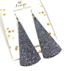 LEMPI-korvakorut, Kajo (titaani glitter)
