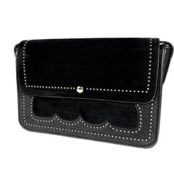 Laukku/DL.PARIS|Black Handbag with Studs