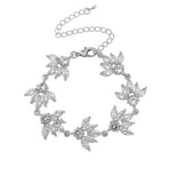 Rannekoru, ATHENA BRIDAL JEWELLERY/Cubic Zirconia Bracelet