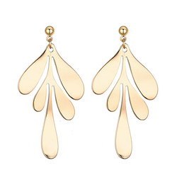 Korvakorut, Gold Delicate Earrings