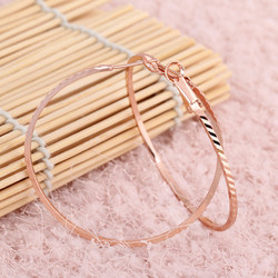 Korvakorut, korvarenkaat, KOA Collection/Classy Rosegold Hoops