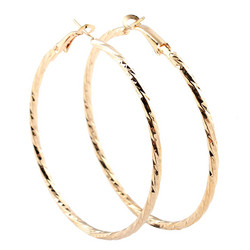 Korvakorut, korvarenkaat, KOA Collection/Pretty Gold Hoops
