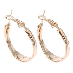 Korvakorut, korvarenkaat, KOA Collection/Greek Goddess Gold Hoops