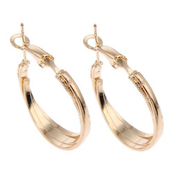 Korvakorut, korvarenkaat, KOA Collection/Summer Waves Gold Hoops