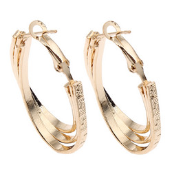 Korvakorut, korvarenkaat, KOA Collection/Teardrop Gold Hoops