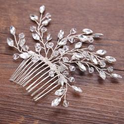 Hiuskoru, hiuskampa/ROMANCE, Sparkly Hairpiece in Silver