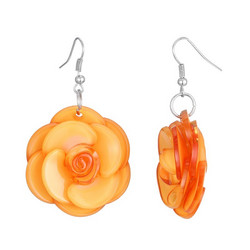 Korvakorut, BELLE MISS|Rose in Apricot Orange