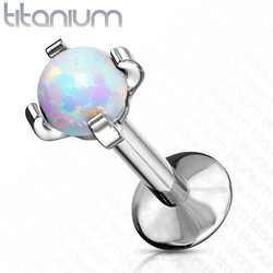 Rustokoru/traguskoru, Titanium Opal (kaksi pituutta)