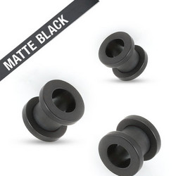Tunneli 10mm, Matte Black