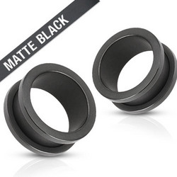 Tunneli 16mm, Matte Black