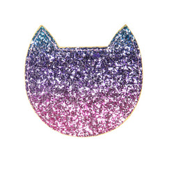 Lompakko, Rockahula KIDS|Sparkly Cat Purse Purple
