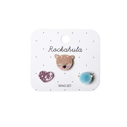 Lasten sormussetti, Rockahula KIDS|Doe-A-Deer Ring Set