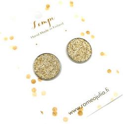 LEMPI-korvanapit, Veera (kulta glitter, L)