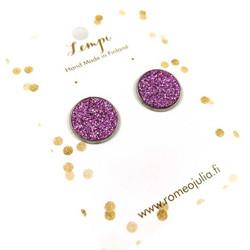 LEMPI-korvanapit, Veera (kanerva glitter, L)
