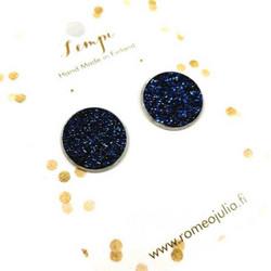 LEMPI-korvanapit, Veera (tummansininen glitter, S)