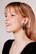 LEMPI-korvakorut, Lehti (nappikiinnityksellä, tumma violetti)