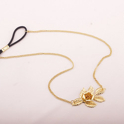Hiuskoru, Rose Headband in Gold