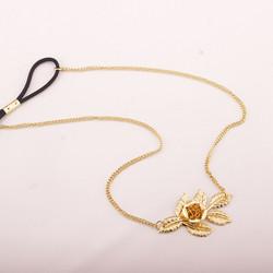 Hiuskoru, Rose Headband in Gold