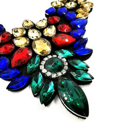 Kaulakoru,  Statement Necklace with Colours