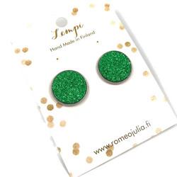 LEMPI-korvanapit, Veera (vihreä glitter, L)