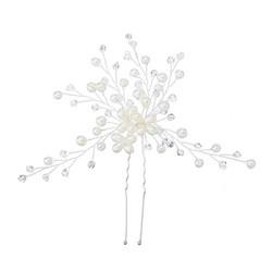 Hiuskoru, hiuskampa/ROMANCE, Romantic Hairpiece with Pearls