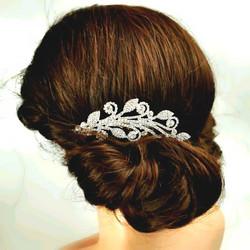 Hiuskoru, kristallikampa Romantic Twine Headpiece