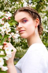 LEMPI-korvakorut, Ruusunlehti (ruusukulta glitter)