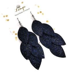 LEMPI-korvakorut, Vilja (sininen glitter)