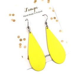 LEMPI-korvakorut, Kaste (kirkas keltainen)