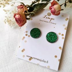 LEMPI-korvanapit, Veera (vihreä glitter, M)