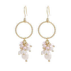 Korvakorut,  Dainty Pearl Earrings