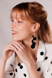 LEMPI-korvakorut, Onni (kulta, nahkaa)