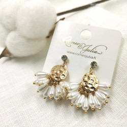 Korvakorut, Small Pearl Earrings