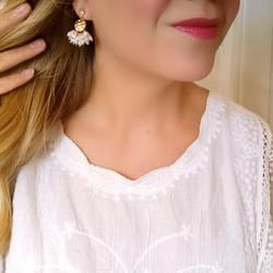 Korvakorut, Small Pearl Earrings